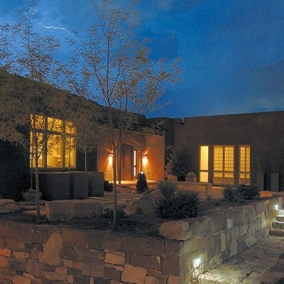 Winner Best Design - Haciendas Parade of Homes The Hills at Bishop's Lodge, a beautiful contemporary home with stunning views | Prull Custom Builders Santa Fe, NM