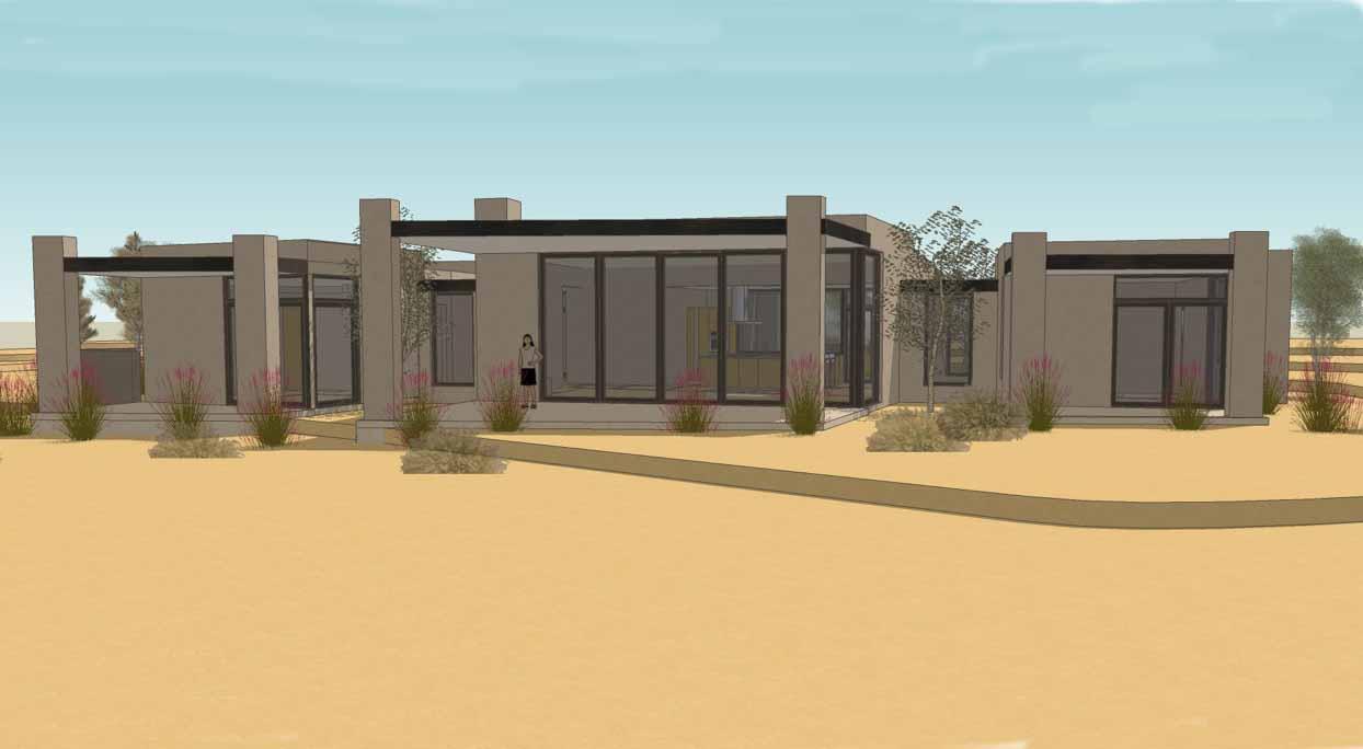 Recently Completed: Las Campanas Park Estates: Via Pampa