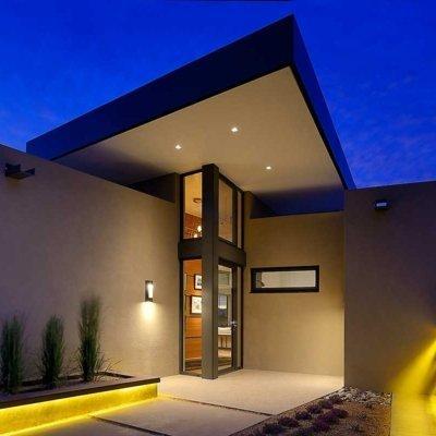 Prull.com | Prull Custom Builders Santa Fe NM | Las Campanas Sleek Modern