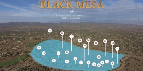 Black Mesa Lot map