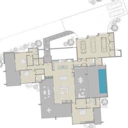 floorplan rendering 3car